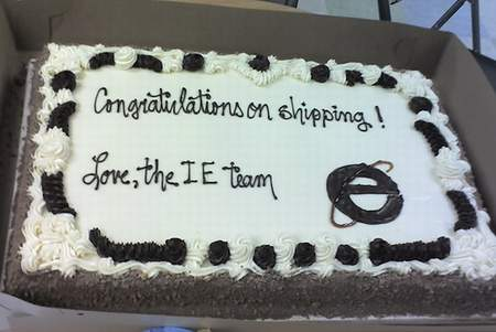Cake from IE Team